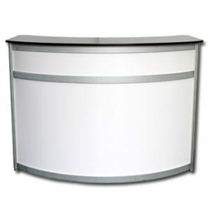 Counter Round White