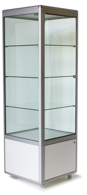 Glass Counter - Square Tower